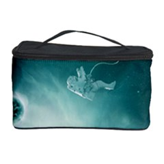 Astronaut Space Travel Gravity Cosmetic Storage Case by Simbadda