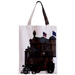 Steampunk Lock Fantasy Home Zipper Classic Tote Bag by Simbadda