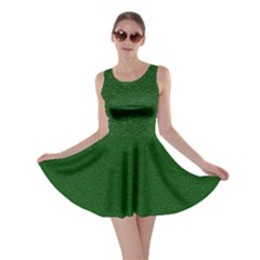 Texture Green Rush Easter Skater Dress by Simbadda