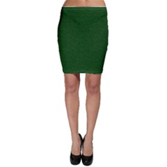 Texture Green Rush Easter Bodycon Skirt by Simbadda