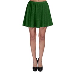 Texture Green Rush Easter Skater Skirt by Simbadda