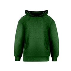 Texture Green Rush Easter Kids  Pullover Hoodie by Simbadda
