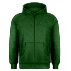 Texture Green Rush Easter Men s Zipper Hoodie by Simbadda