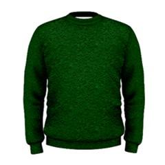 Texture Green Rush Easter Men s Sweatshirt by Simbadda
