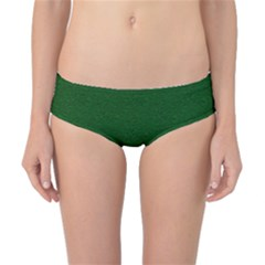 Texture Green Rush Easter Classic Bikini Bottoms by Simbadda