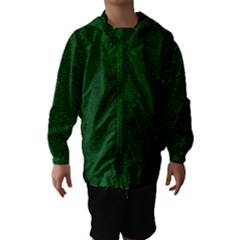 Texture Green Rush Easter Hooded Wind Breaker (Kids) by Simbadda