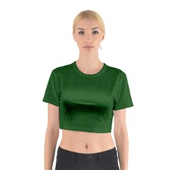 Texture Green Rush Easter Cotton Crop Top by Simbadda