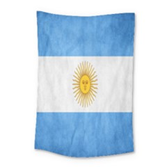 Argentina Texture Background Small Tapestry by Simbadda