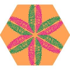 Brian Pink Green Orange Smart Mini Folding Umbrellas by Alisyart