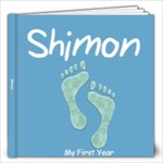 shimon s first year - 12x12 Photo Book (20 pages)