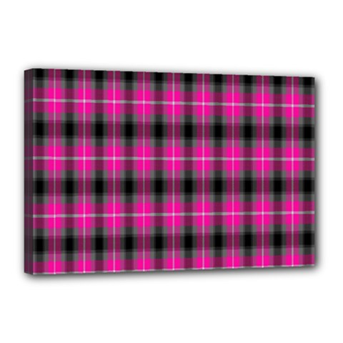 Cell Background Pink Surface Canvas 18  X 12  by Simbadda