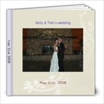kellys wedding - 8x8 Photo Book (30 pages)