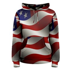 Flag United States Stars Stripes Symbol Women s Pullover Hoodie by Simbadda
