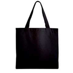 Leather Stitching Thread Perforation Perforated Leather Texture Zipper Grocery Tote Bag by Simbadda