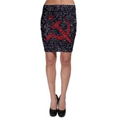 Communism  Bodycon Skirt by Valentinaart