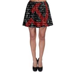 Communism  Skater Skirt by Valentinaart