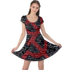 Communism  Cap Sleeve Dresses by Valentinaart