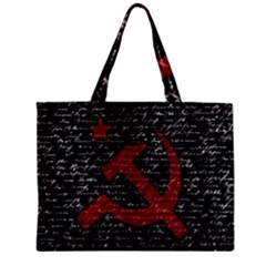 Communism  Zipper Mini Tote Bag by Valentinaart