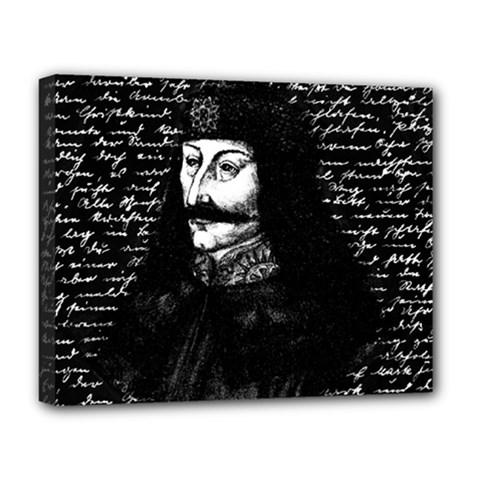 Count Vlad Dracula Deluxe Canvas 20  X 16   by Valentinaart