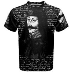 Count Vlad Dracula Men s Cotton Tee by Valentinaart