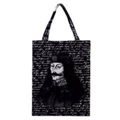 Count Vlad Dracula Classic Tote Bag by Valentinaart