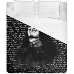 Count Vlad Dracula Duvet Cover (california King Size) by Valentinaart