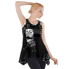 Count Vlad Dracula Side Drop Tank Tunic by Valentinaart