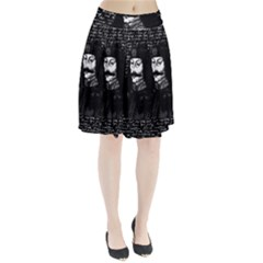Count Vlad Dracula Pleated Skirt by Valentinaart