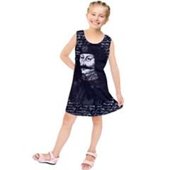 Count Vlad Dracula Kids  Tunic Dress by Valentinaart