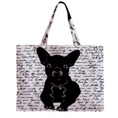 Cute Bulldog Mini Tote Bag by Valentinaart