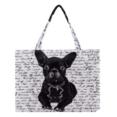Cute Bulldog Medium Tote Bag by Valentinaart