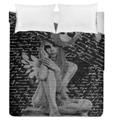 Angel Duvet Cover Double Side (queen Size) by Valentinaart