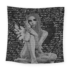 Angel Square Tapestry (large) by Valentinaart