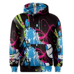 Sneakers Shoes Patterns Bright Men s Pullover Hoodie by Simbadda
