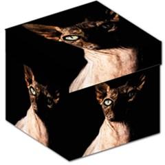 Sphynx Cat Storage Stool 12   by Valentinaart