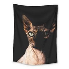 Sphynx Cat Medium Tapestry by Valentinaart
