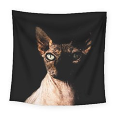 Sphynx Cat Square Tapestry (large) by Valentinaart