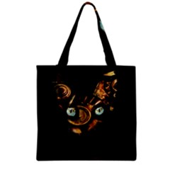 Sphynx Cat Grocery Tote Bag by Valentinaart