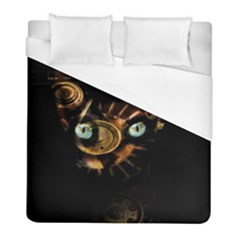 Sphynx Cat Duvet Cover (full/ Double Size) by Valentinaart