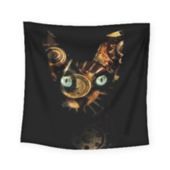 Sphynx Cat Square Tapestry (small) by Valentinaart