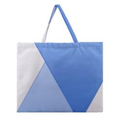 Stripes Lines Texture Zipper Large Tote Bag by Simbadda