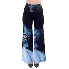 Blue Sphynx Cat Pants by Valentinaart