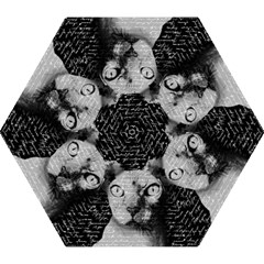 Sphynx Cat Mini Folding Umbrellas by Valentinaart