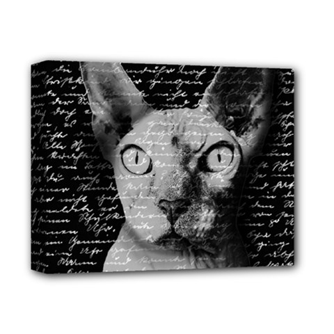 Sphynx Cat Deluxe Canvas 14  X 11  by Valentinaart