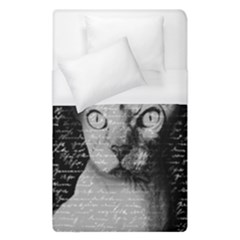 Sphynx Cat Duvet Cover (single Size) by Valentinaart