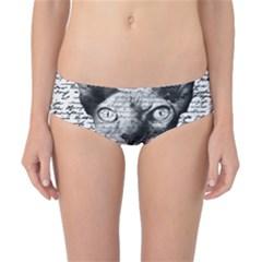 Sphynx Cat Classic Bikini Bottoms by Valentinaart