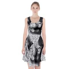 Sphynx Cat Racerback Midi Dress by Valentinaart