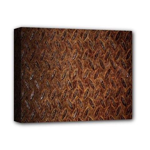Texture Background Rust Surface Shape Deluxe Canvas 14  X 11  by Simbadda