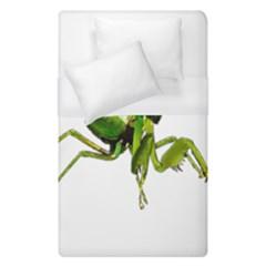 Mantis Duvet Cover (single Size) by Valentinaart