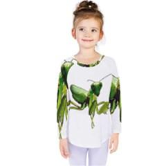 Mantis Kids  Long Sleeve Tee by Valentinaart